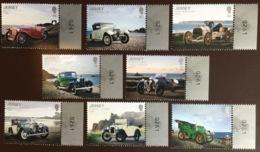 Jersey 2016 Motor Club Anniversary Cars MNH - Jersey