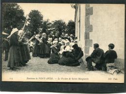 CPA - Environs De PONT AVEN - Le Pardon De Sainte Marguerite, Très Animé - Pont Aven