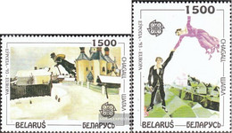 Weißrussland 55-56 (complete Issue) Unmounted Mint / Never Hinged 1994 Contemporary Art - Bielorrusia