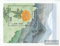 Kirgisistan Block4 (complete Issue) Unmounted Mint / Never Hinged 1994 Locals Flora - Kyrgyzstan