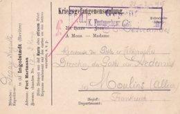 Carte Prisonnier De Guerre 1915 Kriegsgefangenensendung Ingolstadt Baviere - War 1914-18