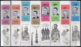 Ras Al-Khaima. United Arab Emirates. 1967. Space. NASA Astronauts. Surcharges. Apollo. MNH - Space