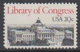 USA 1982 Library Of Congress 1v ** Mnh (45081E) - Ongebruikt