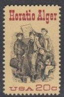 USA 1982 Horatio Alger 1v ** Mnh (45081F) - Ongebruikt