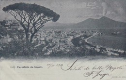 300976Un Saluto Da Napoli 1901 - Napoli (Naples)