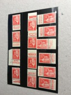 14 Pubs  Type Paix  283 50c Carnet Publicite Pub,  Detail Possible - Ungebraucht