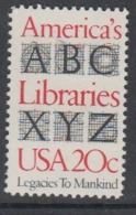 USA 1982 America's Libraries 1v ** Mnh (45081J) - Ongebruikt