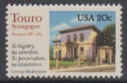USA 1982 Touro Synagoge 1v ** Mnh (45081L) - Ongebruikt