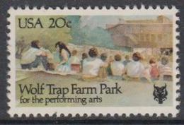 USA 1982 Wolf Trap Farm Park 1v ** Mnh (45081M) - Ongebruikt