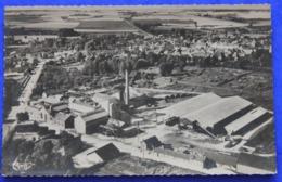 CPSM 02 Vue Aérienne De La Sucrerie De Montcornet , Années 60 - France