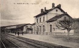 54 Maron , La Gare - France
