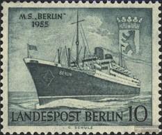 Berlin (West) 126 Unmounted Mint / Never Hinged 1955 Barge Berlin - Ongebruikt