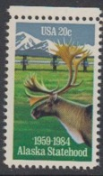 USA 1984 Alaska Statehood 1v ** Mnh (45081N) - Ongebruikt