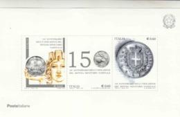 2012 Unificazione Sistema Monetario - Blocchi & Foglietti