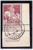 BELGIQUE, COB 89 OBL, ATELIER DU TIMBRE. (4T208) - 1910-1911 Caritas