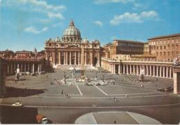 CPSM ITALIE ROME Place Saint Pierre - San Pietro