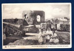 Maroc. Mazagan. Musiciennes Arabes Sur Les Remparts De La Forteresse Portugaise - Marocco