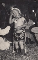 RP: TAMA , Iowa , 1910-30s ; Sac & Fox Indian Reservation Boy - Indiani Dell'America Del Nord