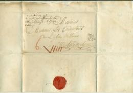 Pays Bas 1789 Lettre Des Conducteurs De L'Église Walonne Du Dit Lieu De Gouda à Aardenbourg - Niederlande