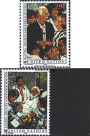 UN - New York 642-643 (complete Issue) Unmounted Mint / Never Hinged 1993 Seniors - New York – UN Headquarters