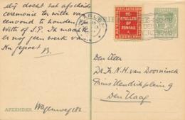 Nederland - 1933 -  5 Cent Briefkaart G216 Van Haarlem - Rood Bestellen Op Zondag - Naar Den Haag - 1891-1948 (Wilhelmine)