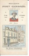 Document Souvenir Du Fort Chabrol 12 Aout 1899 Au 20 Septembre 1899 Jules Guérin - Historische Documenten