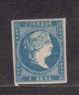 Año 1856 Edifil 49 1r Isabel II - 1850-68 Kingdom: Isabella II