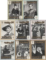 Fujeira 60A-67A (complete Issue) Unmounted Mint / Never Hinged 1966 Sir Winston Churchill - Fujeira