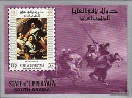 Aden - Upper Yafa Block8 (complete Issue) Unmounted Mint / Never Hinged 1967 Paintings - Yemen