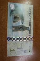 Arctic 1 1/2 Dollars - Billetes