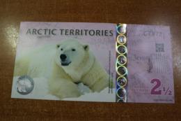 Arctic 2 1/2 Dollars - Billetes