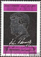 Manama 113A (complete Issue) Fine Used / Cancelled 1968 John F. Kennedy - Manama