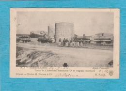 Hoboken-Anvers, Après L'Incendie. - Tanks De L'Américain Pétroleum C. Et Wagons Réservoirs. - Belgique