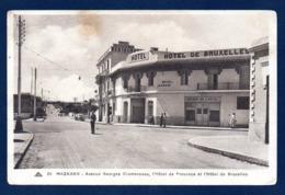 Maroc. Mazagan. Avenue Georges Clemenceau. Hôtel- Restaurant  De Provence Et Hôtel De Bruxelles - Marocco