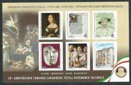 Italia 2019; Comando Carabinieri Per La Tutela Del Patrimonio Culturale. - 2011-...: Mint/hinged