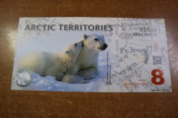 Arctic 8 Dollars - Billetes