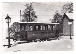 Trammuseum SCHEPDAAL Dilbeek Musée Du Tramway Tram Voiture Royale Leopold II VOIR DOS - Dilbeek