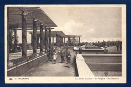 Maroc. Mazagan. Le Jardin Lyautey. La Pergola, Les Bassins. 1940 - Marocco