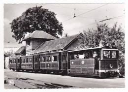 Trammuseum SCHEPDAAL Dilbeek Musée Du Tramway Tram Train à Vapeur Vicinal VOIR DOS - Dilbeek