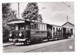Trammuseum SCHEPDAAL Dilbeek Musée Du Tramway Tram Premier Type De Train électrique Vicinal VOIR DOS - Dilbeek