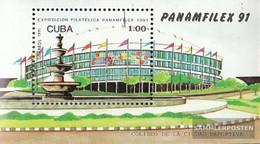 Cuba Block124 (complete Issue) Unmounted Mint / Never Hinged 1991 PANAMFILEX '91, Havana - Cuba