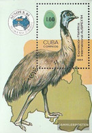 Cuba Block85 (complete Issue) Unmounted Mint / Never Hinged 1984 AUSIPEX 84 - Nuevos