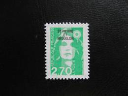 Saint Pierre Et Miquelon: TB N° 630, Neuf XX. - Unused Stamps