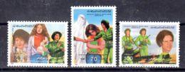 20.1.1984; Emanzipation Des Femmes Libyennes; YT 1264 - 1266; Neuf **, Lot 52004 - Libyen