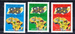 20.4.1983; Comitée économique Afrique;  YT 1155 - 1157; Neuf **, Lot 52015 - Libyen