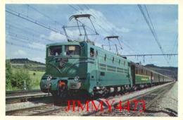 CPM - Locomotive BB 9004 - 1500 V Continu - Cette Machine En 1955 Atteignit La Vitesse De 331 Km/h - Cliché Vie Du Rail - Trains