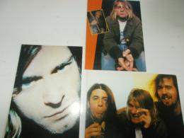B743  3 Cartoline Nirvana Non Viaggiate - Musica E Musicisti