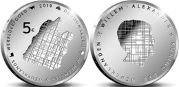 "HOLANDA  5€ 2.019  2019  PLATA/SILVER ""THE BEEMSTER""  SC/UNC    T-DL-12.312 - Netherlands"