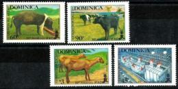Dominica Nº 1031/34 Nuevos - Dominica (1978-...)