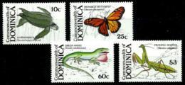 Dominica Nº 1080/83 Nuevos - Dominica (1978-...)